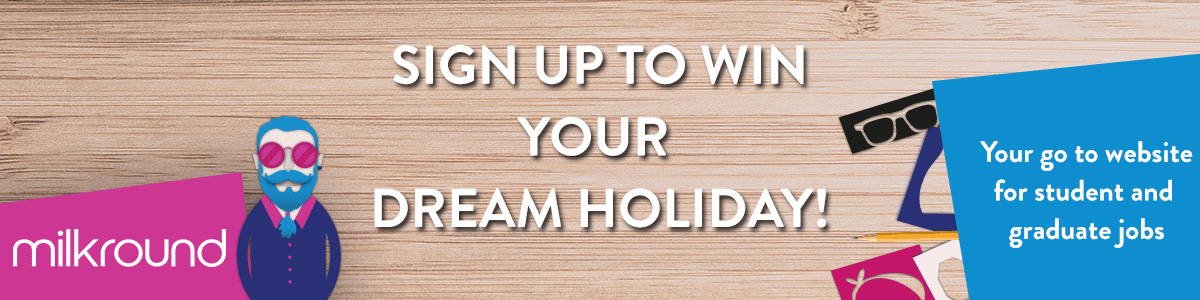 Sign up to win holiday