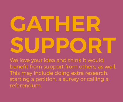Gather Support